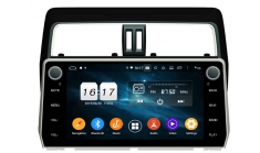 Carmedia KD-1007-P6 Головное устройство с DSP для Prado 150 2017+ на Android