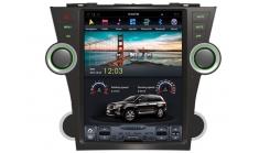 Carmedia ZF-1225 Головное устройство для Toyota Highlander (2007-13) на Android (Tesla)