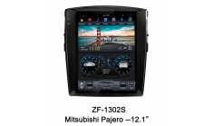 Carmedia ZF-1302 Головное устройство для Mitsubishi Pajero 4 (2006-16) на Android (Tesla)
