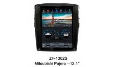Carmedia ZF-1302-DSP Головное устройство для Mitsubishi Pajero 4 (2006-16) на Android (Tesla)