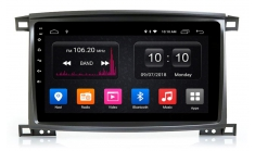 Carmedia OL-1698-P6 Головное устройство с DSP для Toyota Land Cruiser 100 (2002-08) на Android