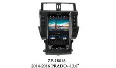 Carmedia ZF-1801-DSP Головное устройство для Toyota Prado 150 (2013-16) на Android (Tesla)