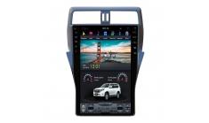 Штатная магнитола FarCar в стиле Tesla для Toyota Land Cruiser Prado 150 (ZF1053)