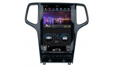 Штатная магнитола FarCar в стиле Tesla для Jeep Grand Cherokee (ZF2010)