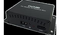 Автомобильный цифровой ТВ-тюнер Carmedia DVB-T2 (2 Антенны)