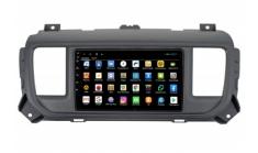 Штатная магнитола Parafar для Peugeot Expert (2016+) / Traveller (2016+) / Citroen Dispatch (2016+) / Jumpy (2016+) / Spacetourer (2016+) / Opel Vivaro (2020) на Android 9.0 (PF555XHD)