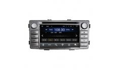 Carmedia KD-6230-P6 Головное устройство с DSP для Toyota Highlux (2011-15) на Android