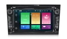 Carmedia MKD-7408b-P4N Головное устройство для Opel Astra H, Vectra C, Corsa D, Antara, Vivaro, Meriva, Zafira на Android