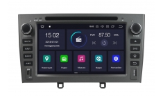 Carmedia KD-7604-P6 Головное устройство с DSP для Peugeot 308, 408, RCZ на Android