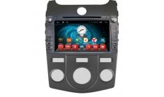 Головное устройство дла KIA Cerato 2009-12 на Android 6.0.1 CARMEDIA QR-8021 (кондиционер)