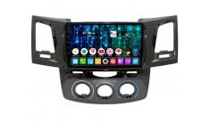 Магнитола на андроиде для Toyota Hilux 2007-2014 DAYSTAR DS-8198HB-TS9 4x64 4G-SIM