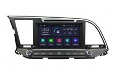 Штатная магнитола CARMEDIA KD-8207 для Hyundai Elantra 2016+ на Android 5.1