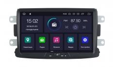 Штатная магнитола CARMEDIA KD-8308 для Renault Duster, Logan, Sandero, X-Ray, Kaptur (Кондиционер)  на Android 5.1