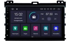 Carmedia KD-9026-P6 Головное устройство с DSP для Toyota Prado 120 на Android
