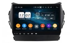 Carmedia KD-9605-P6 Головное устройство с DSP для Hyundai Santa Fe (2012-17) на Android