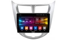 Carmedia OL-9707-2D-S9 Штатная магнитола для Hyundai Solaris (2011-16) на Android