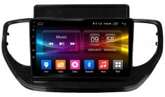 Carmedia OL-9714-S9 (W) Головное устройство с DSP для Hyundai Solaris (2020+) на Android