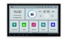 Carmedia MKD-981-P5 Штатная магнитола с DSP для Nissan, 1 din на Android