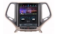 Carmedia ZF-1018G-DSP Головное устройство для Jeep Cherokee 2014+ на Android (Tesla)