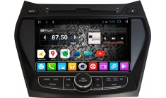 Штатное головное устройство DAYSTAR DS-7004HD Hyundai Santa FE 2013+ ANDROID