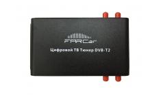 Цифровой автомобильный ТВ тюнер DVB-T2 4 антенны Far-Car (TV Ресивер)