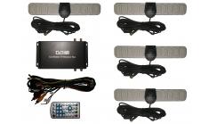 Автомобильный цифровой ТВ-тюнер Carmedia DVB-T2 (4 Антенны)