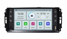 Carmedia MKD-J702-P6-8 Головное устройство для Jeep /Chrysler / Dodge 2007+ Android