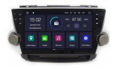Carmedia KD-1037-P6 Головное устройство с DSP для Toyota Highlander U40 (2007-13) на Android