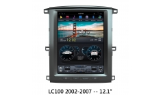 Carmedia ZF-1301-DSP Головное устройство для Toyota Land Cruiser 100 (2002-08) на Android (Tesla)