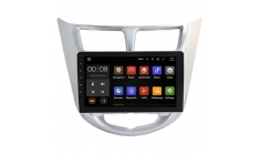 Carmedia NM-118-MTK Штатное головное устройство с DSP для Hyundai Solaris (2011-16) на Android