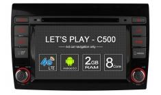 Carmedia OL-7926-8 Головное устройство для Fiat Bravo (2007-12) на Android