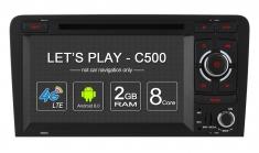 Carmedia OL-7966-8 Головное устройство для Audi A3, S3, RS3 на Android