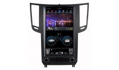 Штатная магнитола FarCar в стиле Tesla для Infiniti FX37, QX-70 (ZF010-1)