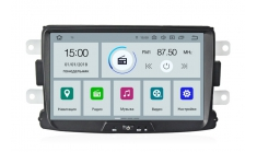 Carmedia MKD-R831-P30 Головное устройство с DSP для Renault Duster, Sandero, Logan, Lada X-Ray Android