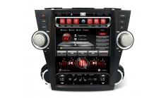 CARMEDIA SP-12107 Головное устройство для Toyota Highlander (2007-13) U40 на Android (Tesla)