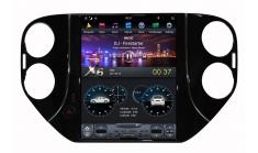 Carmedia ZF-1081-DSP Головное устройство для Volkswagen Tiguan на Android (Tesla)