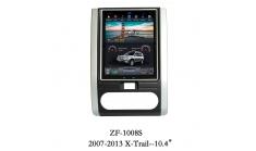 Carmedia ZF-1008 Головное устройство для Nissan X-Trail (2007-14) на Android (Tesla)
