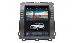 Carmedia ZF-1116-H Головное устройство для Toyota Prado 120, Lexus GX-470 (2002-09) на Android (Tesla)