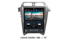 Carmedia ZF-1815-DSP Головное устройство для Lexus GX-460 (2014-17) на Android (Tesla)
