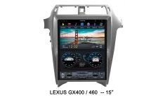 Carmedia ZF-1815 Головное устройство для Lexus GX-460 (2014-17) на Android (Tesla)